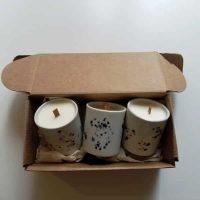 Coffret Touches de Parfum bougies céramiques