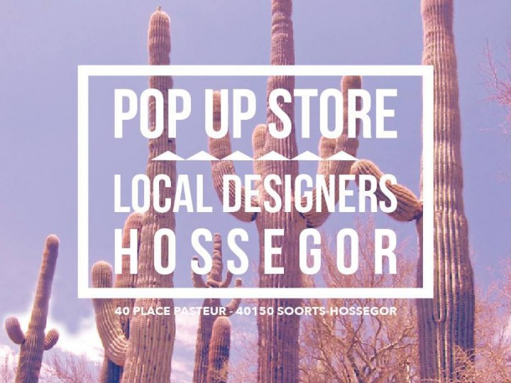 Pop-up Store Local Designers revient à Hossegor